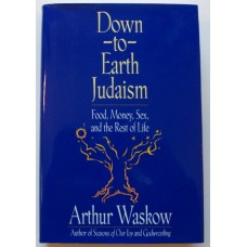 Down-to-Earth Judaism, by Arthur Waskow