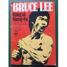 Bruce Lee KING OF KUNG FU Collector's Edition True Life Story 1974 1st.ed. USA