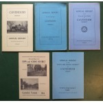 Cavendish Vermont Town Reports - Lot of 9: 1921-1965