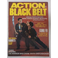 Action Black Belt magazine - July 1974 - Bare Hands vs. Weapons - Tiger Claw