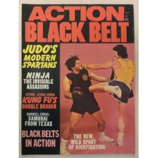 Action Black Belt magazine - November 1974 - Judo - Ninja - Samurai - Kickfight