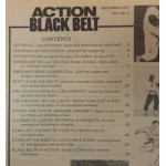 Action Black Belt magazine - September 1974 - Judo lesson - what is Black Belt?