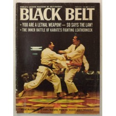 Black Belt - February 1969 - Managing Pain - Weaponry - Law and the Black Belt