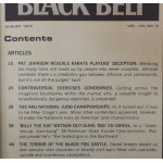 Black Belt - August 1970 - Controversial Exercises - Deceptive Match Moves