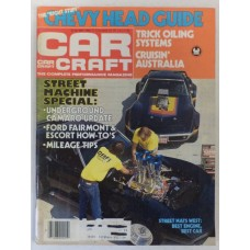 Car Craft - May 1981: Chevy Head Guide