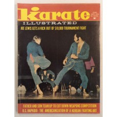 Karate Illustrated - September 1974 - Hapkido - Nunchuks