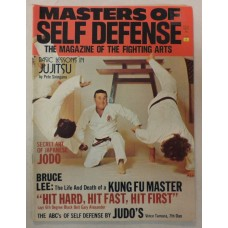 Masters of Self Defense - June 1974 - Judo - JuJitsu - Bruce Lee