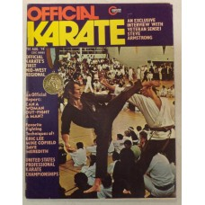 Official Karate August 1974 - Steve Armstrong - Eric Lee - Mike Cofield