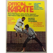 Official Karate (copy#2) October 1974 - Subway Crime - Steve Kijewski and Others