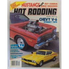 Popular Hot Rodding - January 1982 - Ford Section - 1968 Shelby Cobras