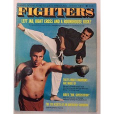 Fighters - Volume1 No.1 - October 1974 - Karate-Boxing-Kung~Fu-Judo-Wrestling