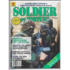 Soldier of Fortune February 1996