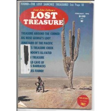 Lost Treasure Magazine - February 1976 - Vol. 1 No. 3