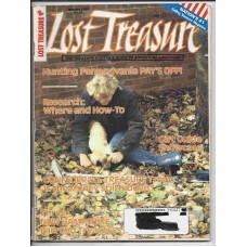 Lost Treasure Magazine - January 1989 - Vol. 14 No. 1