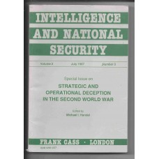 Intelligence and National Security July 1987 Vol. 2 No. 3