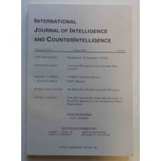International Journal of Intelligence and Counterintelligence Winter 1988 Vol. 2 No. 4